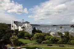 伊丽莎白海湾-从伊丽莎白海湾议院的看法 免版税库存照片