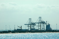 伊丽莎白港口端口 免版税库存图片