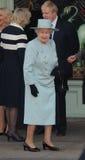伊丽莎白ii女王/王后 库存图片