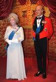 伊丽莎白ii菲利普王子 免版税库存照片
