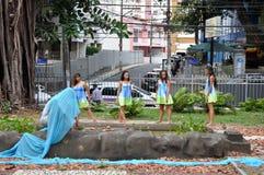 巴伊亚舞蹈节日 免版税库存照片