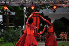 巴伊亚舞蹈节日 库存照片