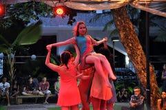 巴伊亚舞蹈节日 免版税库存图片