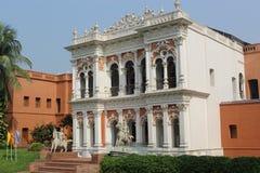 伊什法克可汗宫殿  Sonargaon博物馆 免版税库存照片