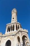 伊兹密尔尖沙咀钟楼,土耳其 库存图片