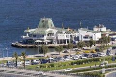 伊兹密尔:Konak码头。 库存图片