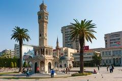 伊兹密尔Konak广场 免版税库存照片