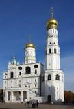 伊冯伟大的响铃在莫斯科,俄罗斯 免版税图库摄影