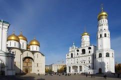 伊冯伟大的响铃在莫斯科,俄罗斯 库存照片