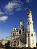 伊冯伟大的钟楼,克里姆林宫,俄罗斯 图库摄影