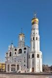 伊冯极大的钟楼,莫斯科 图库摄影