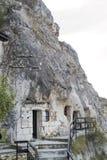 伊凡诺沃,保加利亚摇滚被砍成的教会  免版税库存图片