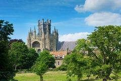 伊利大教堂剑桥郡英国 免版税库存照片