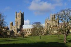 伊利大教堂英国 免版税库存图片