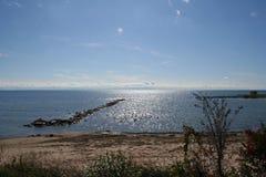 伊利湖夏天 库存图片