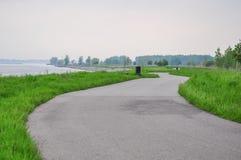伊利湖,采取在Baffalo 免版税库存图片