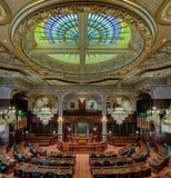 伊利诺伊众议院房间 免版税库存照片
