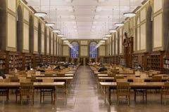 伊利诺伊大学的中央图书馆 免版税图库摄影
