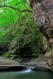 伊利诺伊峡谷 免版税库存图片