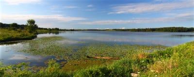 伊利诺伊湖shabbona 库存照片