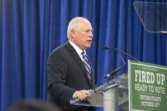 伊利诺伊的州长, Pat昆因 免版税库存照片