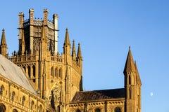 伊利, CAMBRIDGESHIRE/UK - 11月23日:伊利Cath外视图  免版税库存图片
