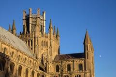 伊利, CAMBRIDGESHIRE/UK - 11月23日:伊利Cath外视图  免版税图库摄影