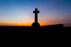 伊夫林安东尼洞Penney纪念品十字架 库存图片