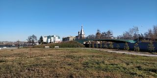 伊尔库次克俄国教会,俄罗斯 库存图片