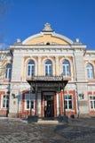 伊尔库次克,俄罗斯, 2017年3月, 03日 从1884年是被找出的Trapeznikova工业技术sc的历史建筑 库存图片