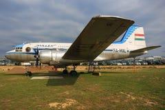 伊尔-14 DC-3 免版税库存图片