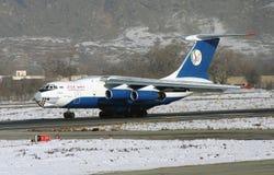伊尔-76 TB 免版税库存图片