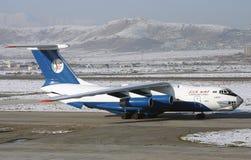 伊尔-76 TB 免版税库存照片