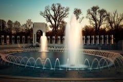 伊拉克战争纪念品喷泉 库存图片
