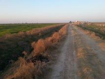 伊拉克的乡下 免版税库存照片