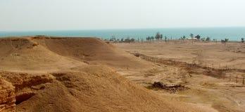 伊拉克的很少看的边 库存图片