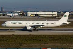 伊拉克航空公司空中客车A321 免版税库存图片
