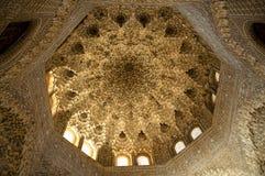 伊斯兰主题和装饰品 免版税库存照片