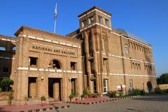 伊斯兰堡,巴基斯坦- 2017年9月22日-修造在伊斯兰堡,巴基斯坦的艺术巴基斯坦国家会议 PNCA是著名的 免版税库存照片