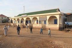 伊斯兰学校在部落可汗城市 库存图片
