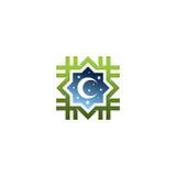 伊斯兰徽标 免版税库存照片