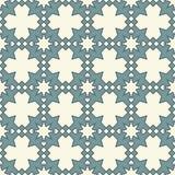 伊斯兰教的几何装饰品 无缝阿拉伯的模式 库存例证