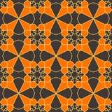 伊斯兰教的几何装饰品 无缝阿拉伯的模式 皇族释放例证