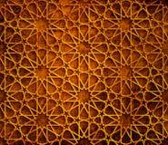 伊斯兰教的几何难看的东西背景 图库摄影
