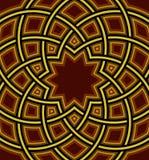 伊斯兰教的圆顶背景 免版税库存照片