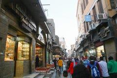 伊斯兰教的地方老开罗,埃及 免版税库存照片