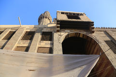 伊斯兰教的地方老开罗,埃及 库存照片