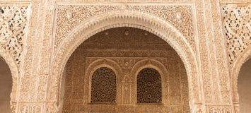 伊斯兰教的宫殿内部 图库摄影