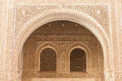 伊斯兰教的宫殿内部 免版税图库摄影