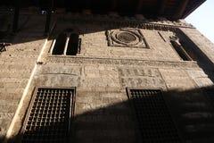 伊斯兰教的宫殿-开罗,埃及 免版税库存照片